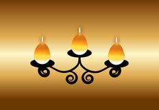 向量蜡烛 免版税库存照片