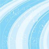 向量水波 免版税库存图片