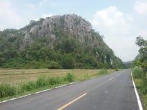 向kaokok小山的路 库存照片