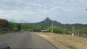 向Rama,尼加拉瓜的路 库存照片