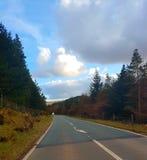 向Snowdonia国家公园2的路 库存图片