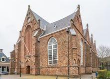 吕伐登,荷兰, 2018年4月14日, Jacobijnenkerk a 免版税库存图片