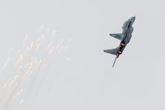 吕伐登,荷兰- 2016年6月11日:斯洛伐克空军队Mi 库存图片