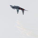 吕伐登,荷兰- 2016年6月11日:斯洛伐克空军队Mi 库存照片