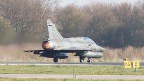 吕伐登,荷兰- 2016年4月11日:法语空军队Dassa 库存照片
