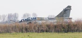吕伐登,荷兰- 2016年4月11日:法语空军队Dassa 免版税库存照片