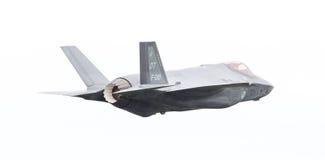 吕伐登,荷兰- 2016年6月10日:F-35闪电II f 图库摄影