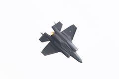 吕伐登,荷兰- 2016年6月11日:F-35闪电II f 免版税库存照片