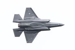 吕伐登,荷兰- 2016年6月10日:F-35闪电II f 免版税库存照片