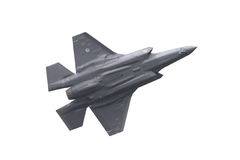吕伐登,荷兰- 2016年6月11日:F-35闪电II f 库存图片