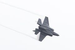 吕伐登,荷兰- 2016年6月11日:F-35闪电II f 免版税库存图片