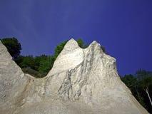 吕根县海岛白垩峭壁 库存图片