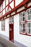 吕贝克,德国16 10 2014年- traditi的正门和门 库存图片