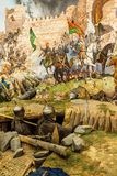 君士坦丁堡最后的攻击的细节  免版税库存照片