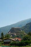 吟呦诗人,瓦莱达奥斯塔,意大利,欧洲 免版税库存图片