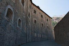 吟呦诗人,瓦莱达奥斯塔,意大利,欧洲 库存图片