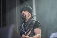 吨岩石2014年, Volbeat 库存照片