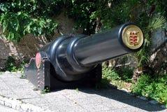 30吨枪,直布罗陀 图库摄影