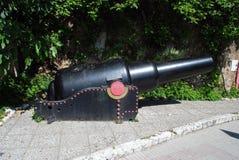 30吨枪,直布罗陀 库存照片