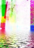 含水的背景 库存图片
