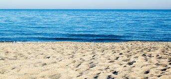 含沙岸 免版税库存图片