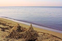含沙的宫殿 图库摄影