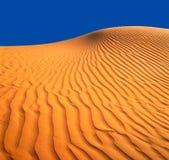 含沙的沙丘 免版税库存图片
