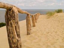 含沙的沙丘 图库摄影