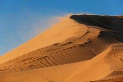 含沙风暴 免版税库存照片