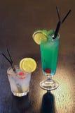 含酒精成分的coctails 库存图片