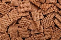 含麦芽的麦子饼干早餐谷物背景 库存图片