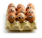 听众鸡蛋 免版税库存图片