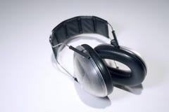 听力保护 库存图片