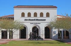 听见的博物馆在菲尼斯,亚利桑那 免版税图库摄影