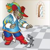 启动猫童话 免版税图库摄影