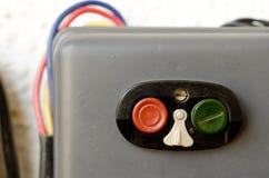 启动程序的按钮 库存照片