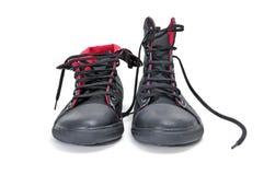 启动运动鞋 免版税库存照片