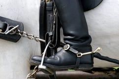 启动马镫 图库摄影