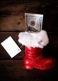 启动s圣诞老人 库存图片