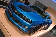 雪佛兰Camaro热的轮子特刊-日内瓦汽车展示会2013年 免版税库存图片
