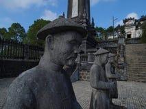启定帝,颜色,越南坟茔。联合国科教文组织世界遗产名录站点。 图库摄影