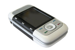 启用的电话的电池 库存图片