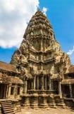 吴哥窟寺庙古老大厦在吴哥复合体,暹粒,柬埔寨的 库存照片