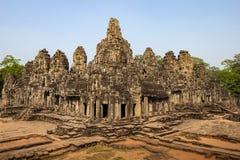 吴哥窟寺庙,暹粒市,柬埔寨废墟 图库摄影
