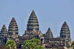 吴哥窟寺庙,暹粒,柬埔寨塔  免版税库存照片