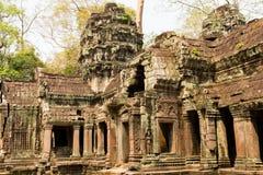 吴哥窟是在柬埔寨和最大的宗教纪念碑的寺庙复合体在世界上 柬埔寨收割siem 艺术性的图片 库存图片