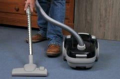 吸尘地毯 免版税图库摄影