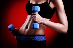 吸收健身设计 免版税库存图片