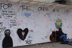 吸毒过量死亡在温哥华 库存图片