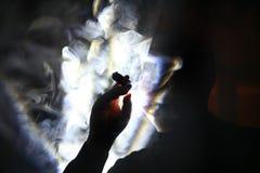 吸烟者 免版税库存照片